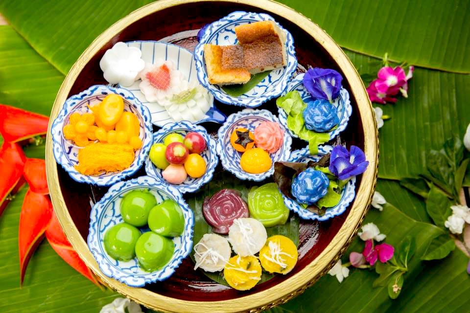 ขนมไทย ร้านดังชลบุรี