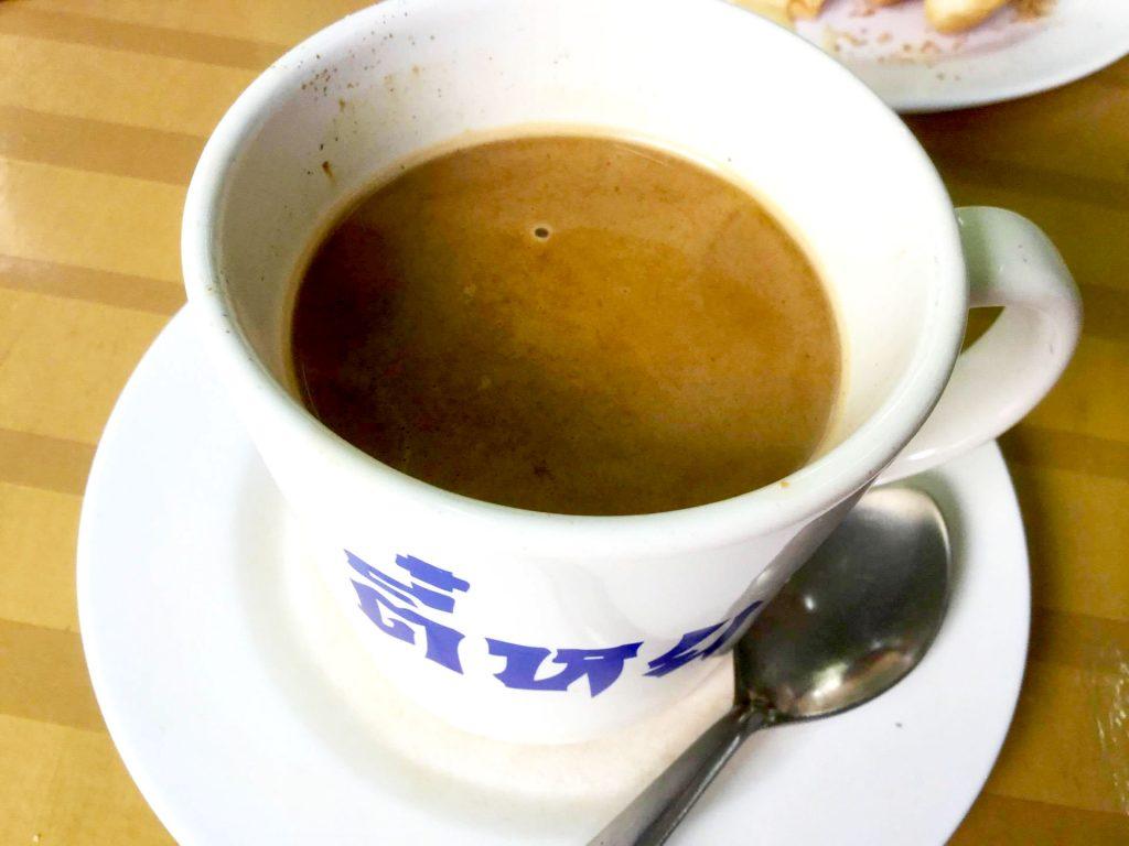 กาแฟโบราณ ที่ร้านตี๋หยกกาแฟโบราณ